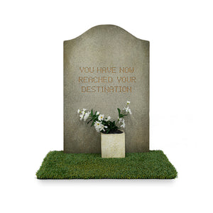 Banksy™ Tombstone