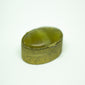yesterday vintage handmade brass pill box - een stip