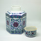 yesterday hand painted beautiful urns - een stip