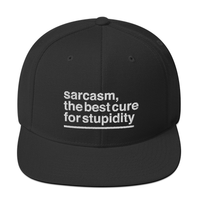 sarcastic quotes, snapback hats, stupidity quotes