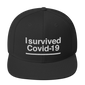 i survievd coronavirus, snapback hats, sarcastic quotes