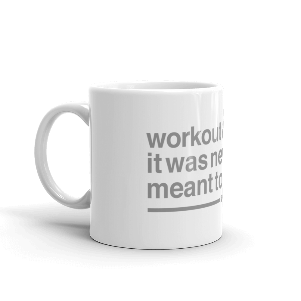 workout mug mediocrity quotes, sarcastic quotes