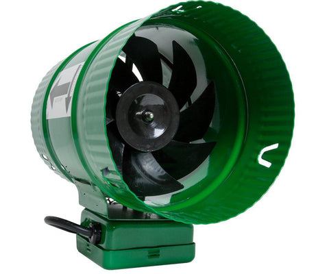 "6"" Inline Booster Fan 188cfm-Ventilation-Midwest Grow Co"