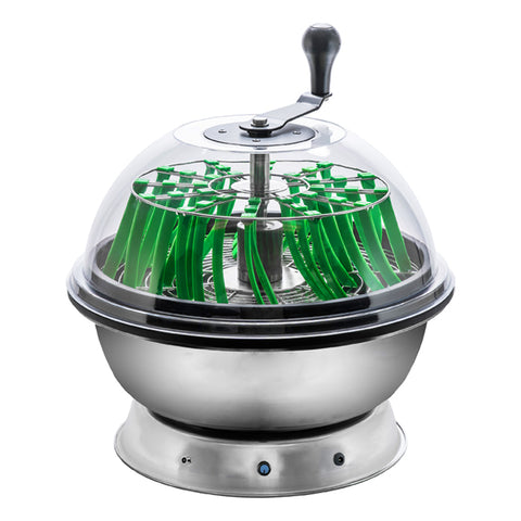16'' Motor Driven Bowl Trimmer w/ Clear Top