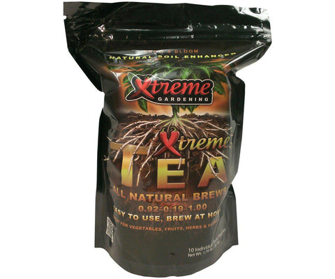 Xtreme Tea Brews Individual Pouches, 80 g, pack of 10-Nutrients & Additives-Midwest Grow Co