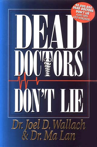Dead Doctors Don't Lie Book