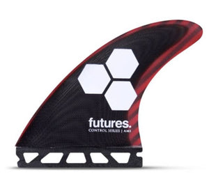 FUTURES AM1 CONTROL SERIES MAROON TRI FIN SET PACKAGED