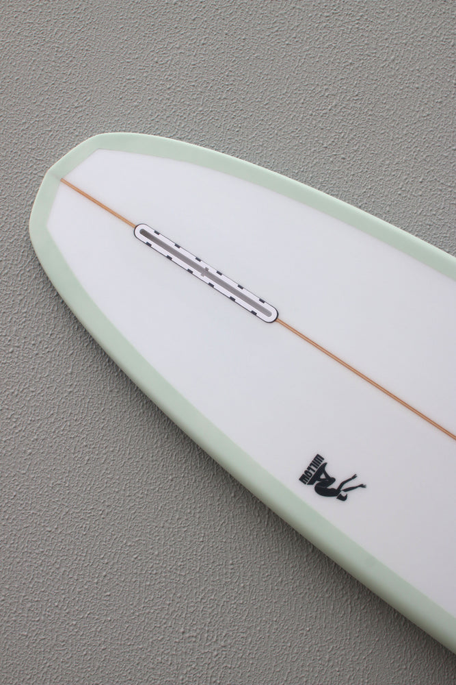 Load image into Gallery viewer, WILLOW RETRO GLIDE LONGBOARD TRANS GREEN