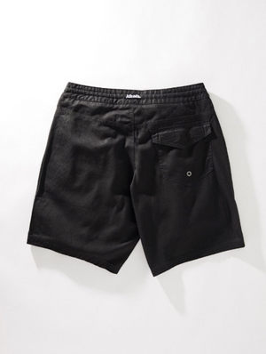 AFENDS HEMP CRUCIAL FIXED WAIST BOARDSHORT