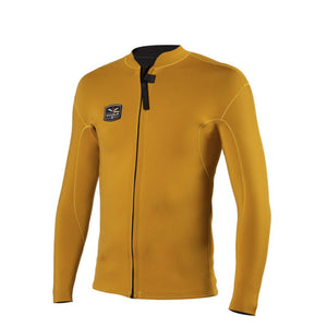 Load image into Gallery viewer, VISSLA 2MM SOLID SETS FRONT ZIP JKT