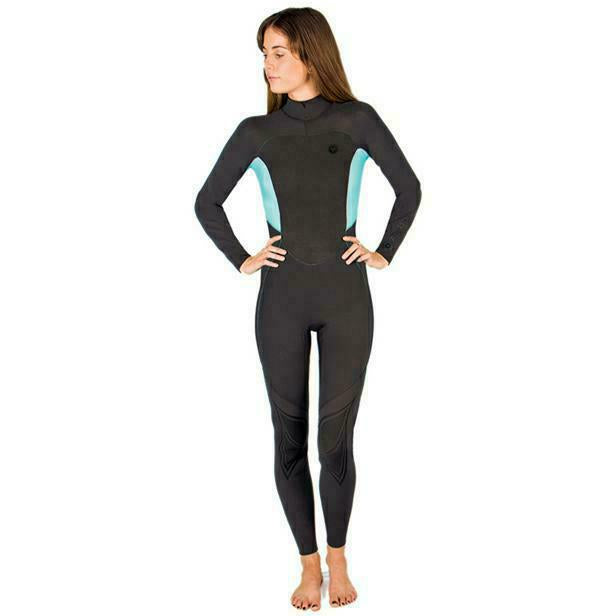 Load image into Gallery viewer, OCEAN AND EARTH LADIES BACK ZIP 3/2 STEAMER W19