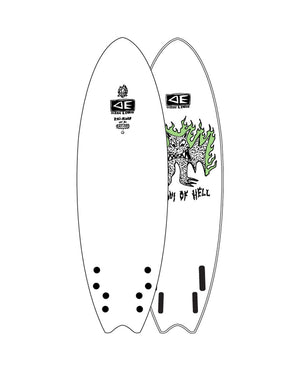 OCEAN AND EARTH BAT OUTTA HELL QUAD SOFTBOARD