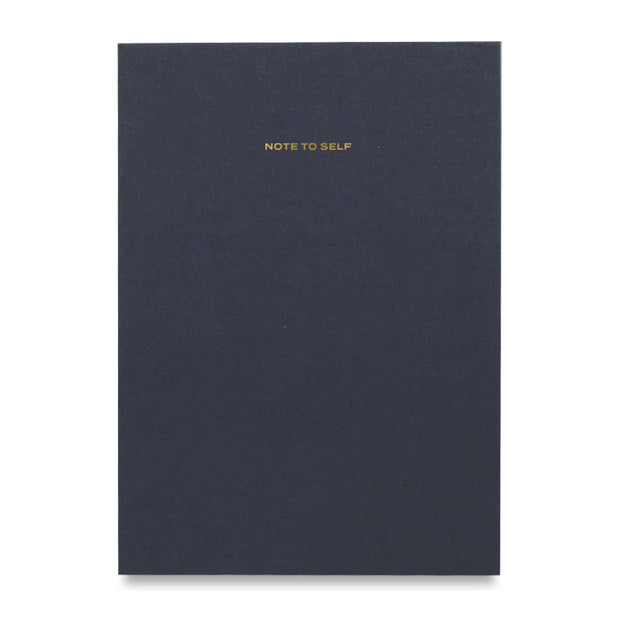 Wit & Delight - Navy Note To Self Journal