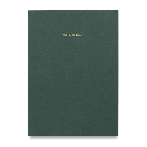 Wit & Delight - Green Note To Self Journal