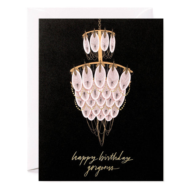 All My Layers Paper Co. - Chandelier Happy Birthday