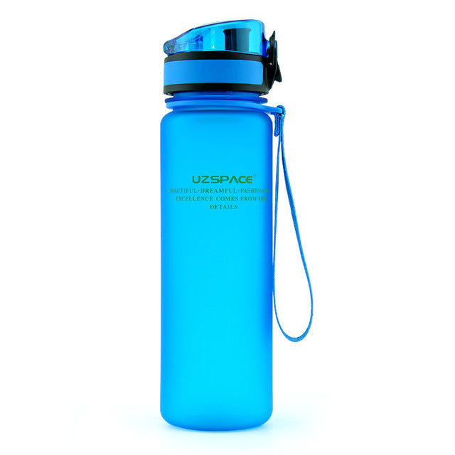 Explosion Sports Water Bottles 500ML 1L Protein Shaker Outdoor Travel Portable Leakproof Tritan plastic My Drink Bottle BPA Free - Palcost