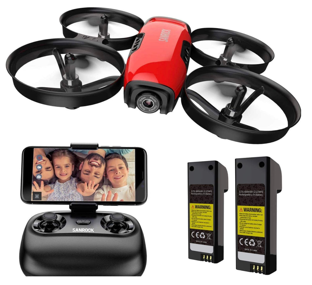 FlyToy AirCam 4000 RC Quadcopter with 720P HD WiFi FPV Camera