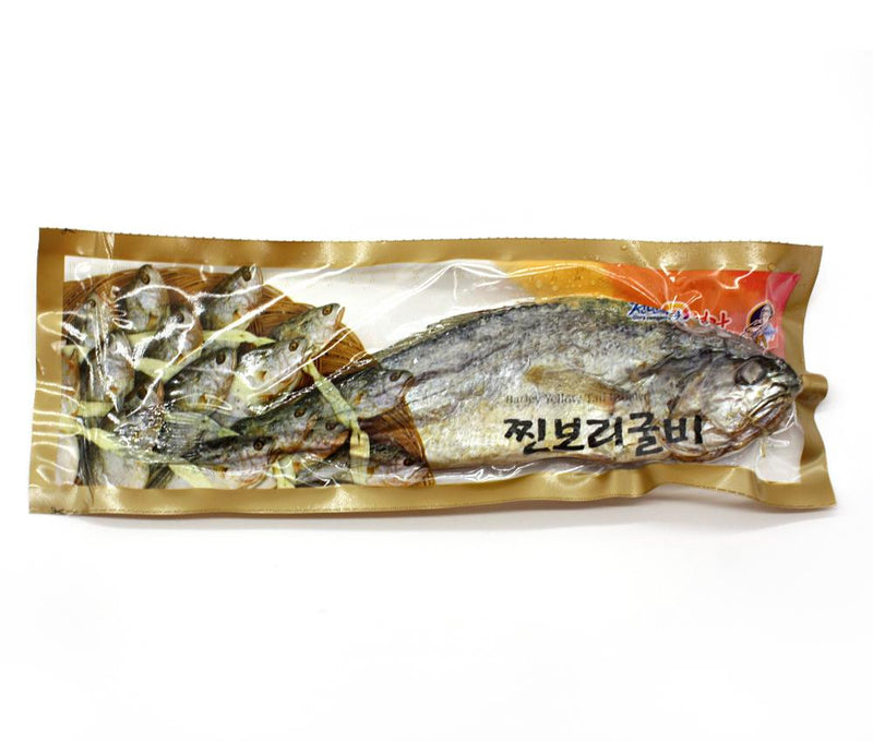 [SEPERATE FREE SHIPPING] Bori Gulbi - Steamed Barley Dried Yellow Corvina (10 Fish per Set)