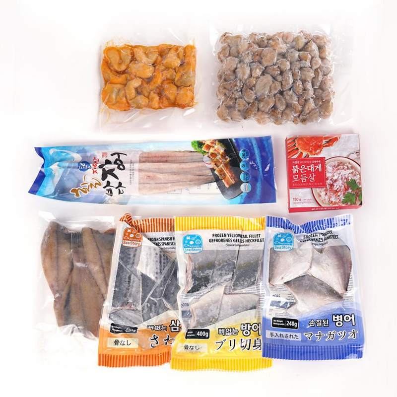 [SEPARATE FREE SHIPPING] Korea's Premium Wild Seafood Set (8 different types) 2.5kg
