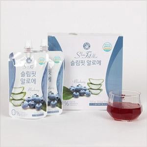 SeoulMills presents the blueberry and aloe infused health juice.