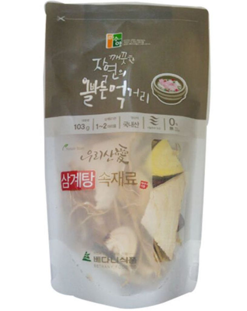 Seoul Mills offers Masua Dried Samgyetang Ingredients.