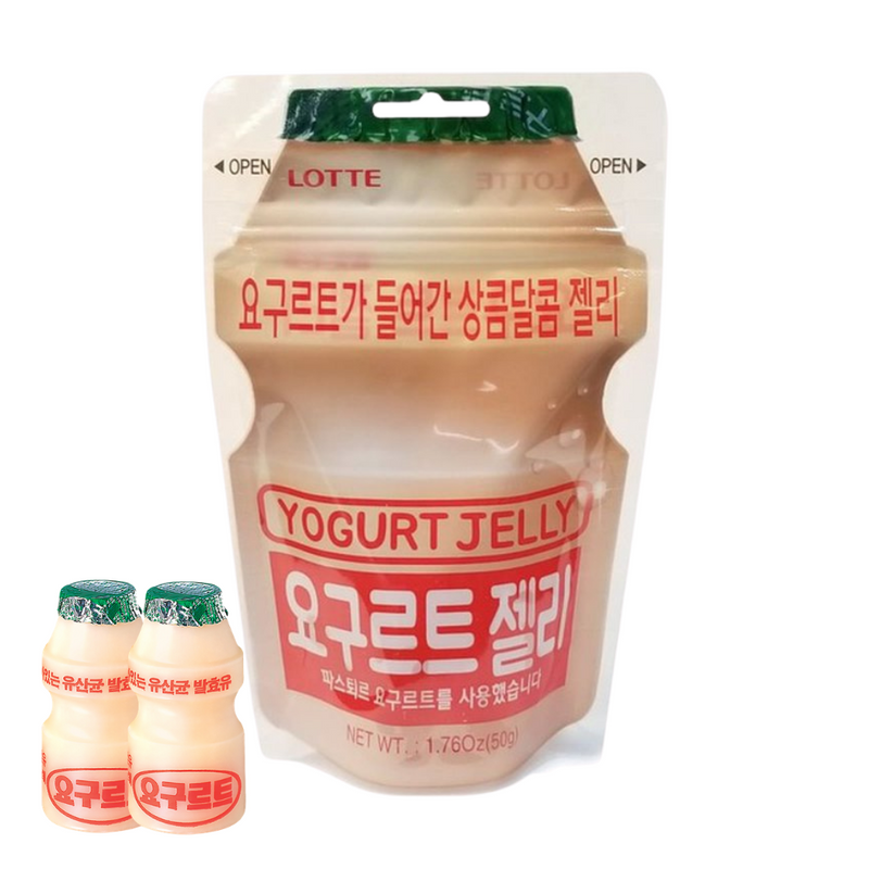 Lotte Yogurt Jelly 50g (3 bags per order)