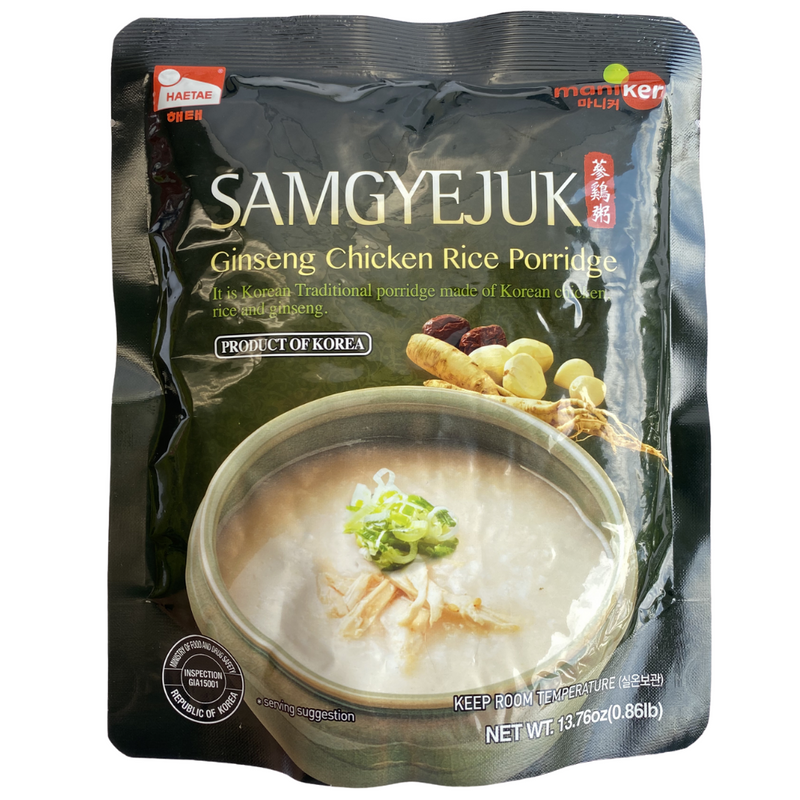 Maniker Ginseng Chicken Rice Porridge (Samgyejuk)