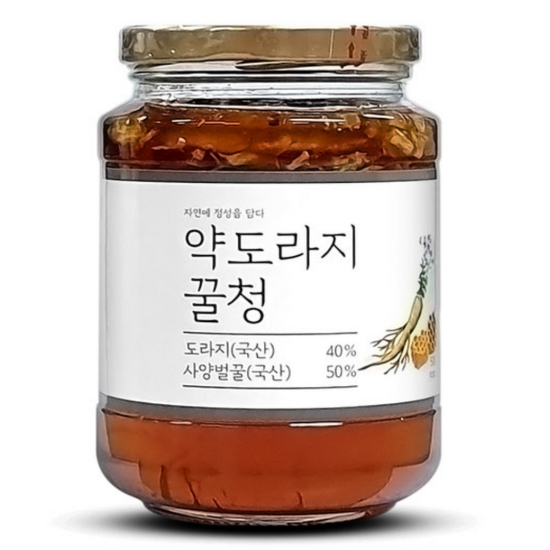 Korean Balloon Flower and Honey Tea 500g