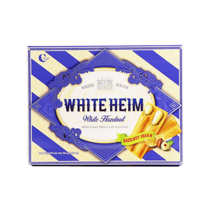 White Heim White Hazelnut Wafers