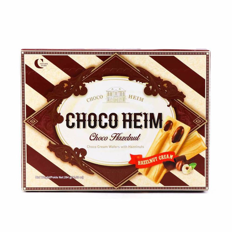 Crown Choco Heim Choco Hazelnut Wafers