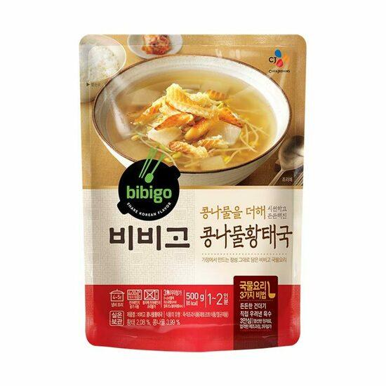 CJ Bibigo Bean Sprout and Pollock Soup