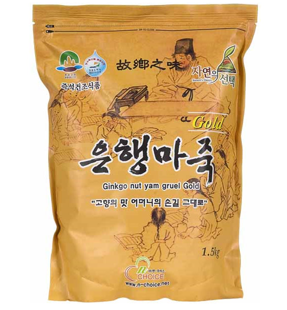 Ginkgo Nut Yam Porridge Gold 1.5kg