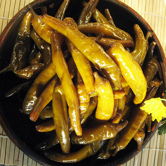 CheongyangGol Pickled Chili Pepper (Non-Spicy) 500g