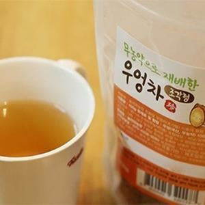 SeoulMills burdock tea is packaged conveniently.