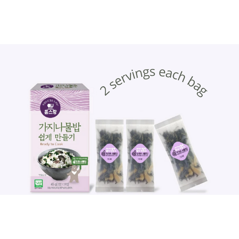 Easy Eggplant Namul Bap Mix 45g (2 servings x 3 packs)