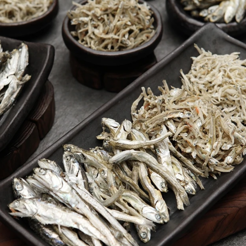 Samchunpo Premium Dried Anchovy Gift Set (4 types)