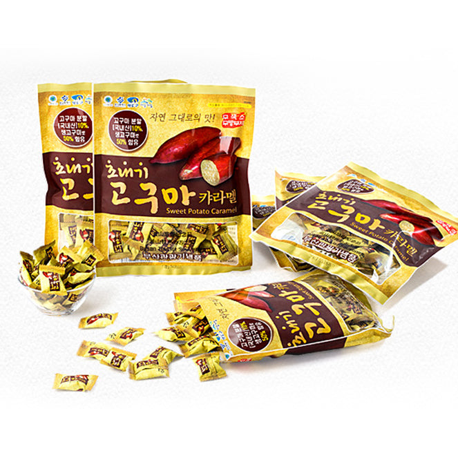 Sweet Potato Caramel Candy 180g (3 Bags per Order)