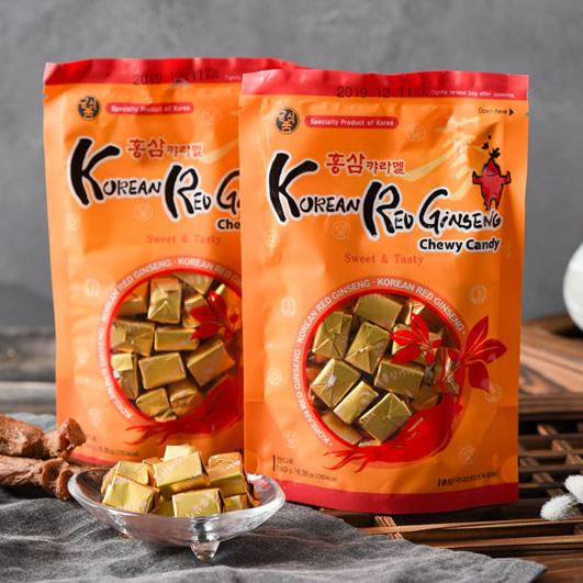 Try Korean Red Ginseng Caramel 180g at Seoul Mills!