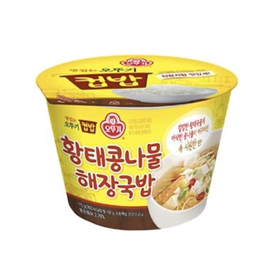 Ottogi Dried Pollock Soup with Bean Sprouts Rice Bowl 271g (Limited to 4 per Order)