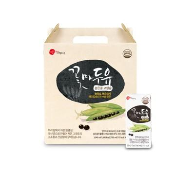 Cconma Black Bean Soy Milk 190 ml (16 Packs per Box) - Expiration Date: 6/13/2021