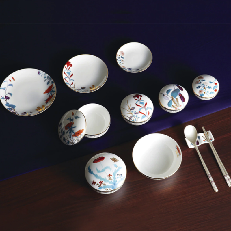 [HANKOOK CHINAWARE] Cho Choong Do Bowl Set for 2 (6pcs)