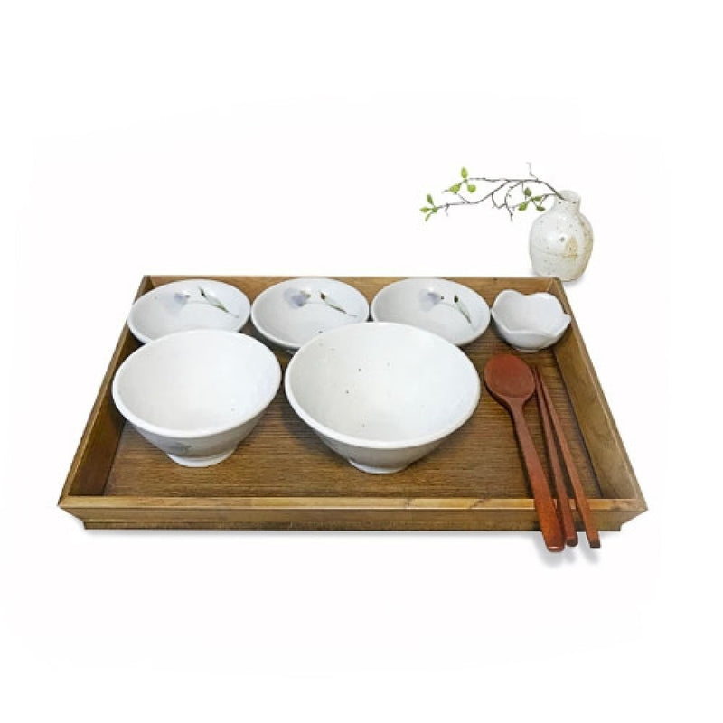 Dangozai Complete 8-pc Dinnerware Place Setting, Service for 1
