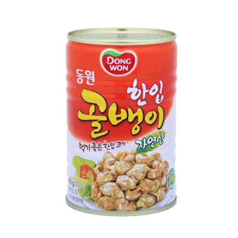 Dongwon Canned Bai Top Shell 400g
