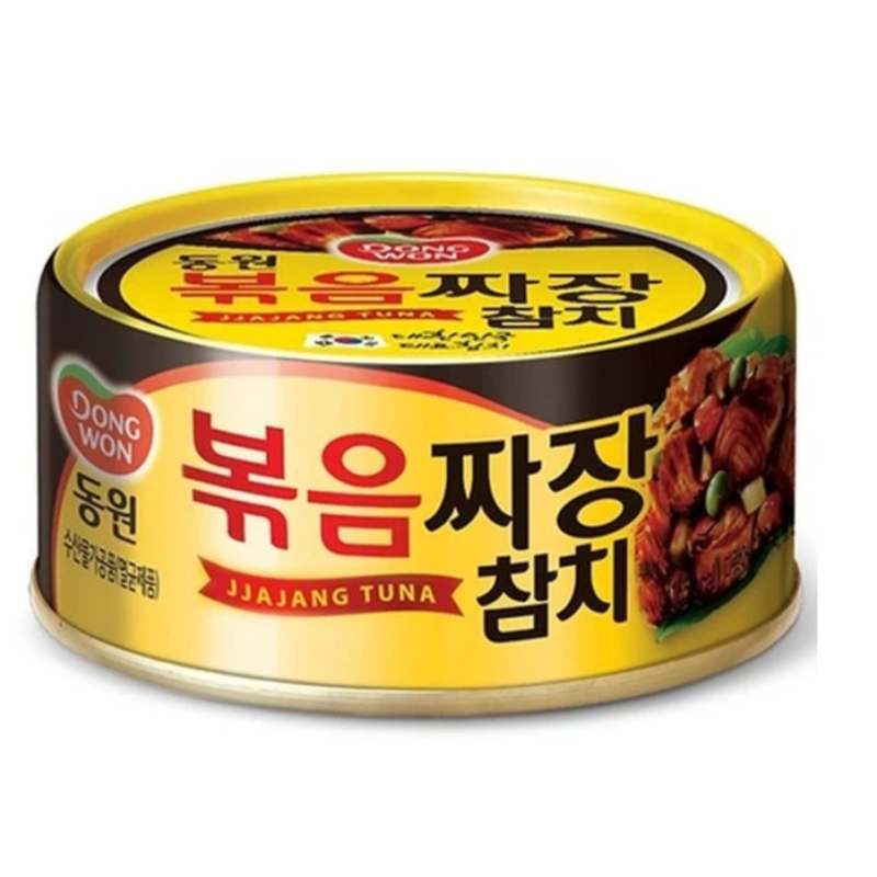 Dongwon Canned Tuna with Black Bean Sauce (Jjajang Chamchi) 150g