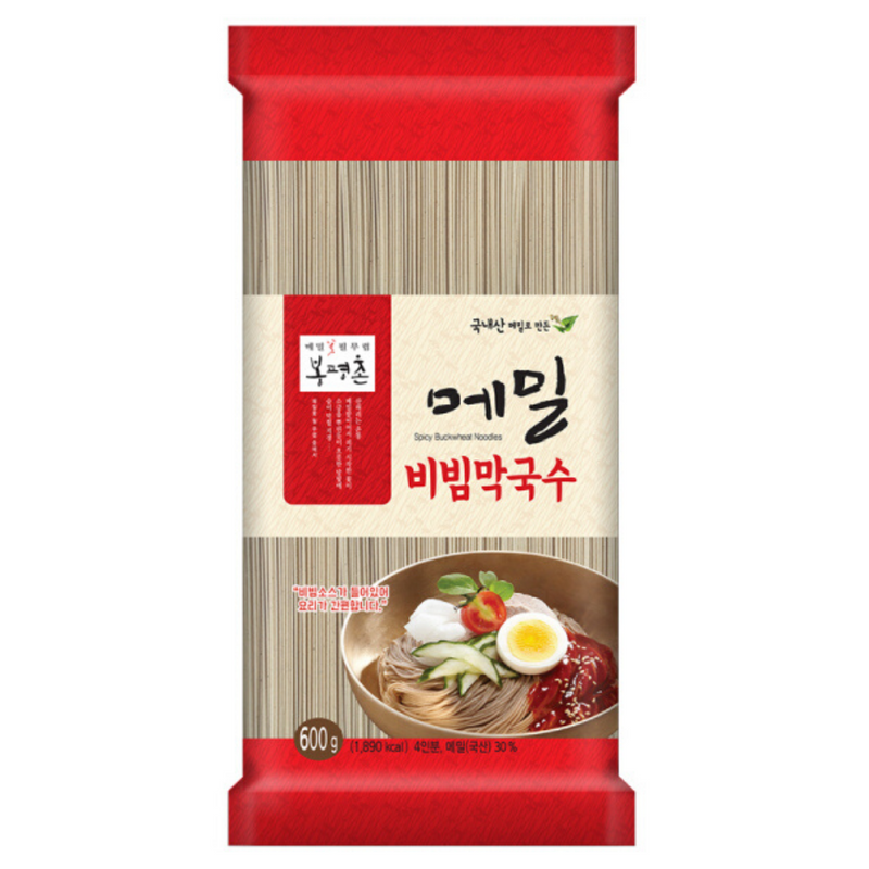 Try the Bongpyeongchon Buckwheat Bibim Makguksu 600g at Seoul Mills!