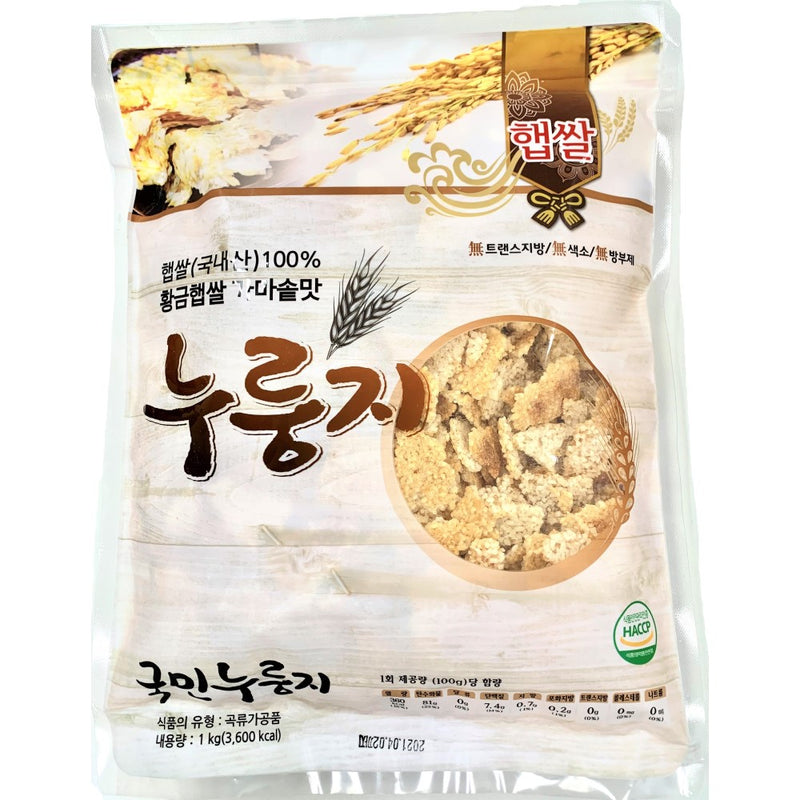 Gu's Food Rice Cracker (Nurungji) 1kg
