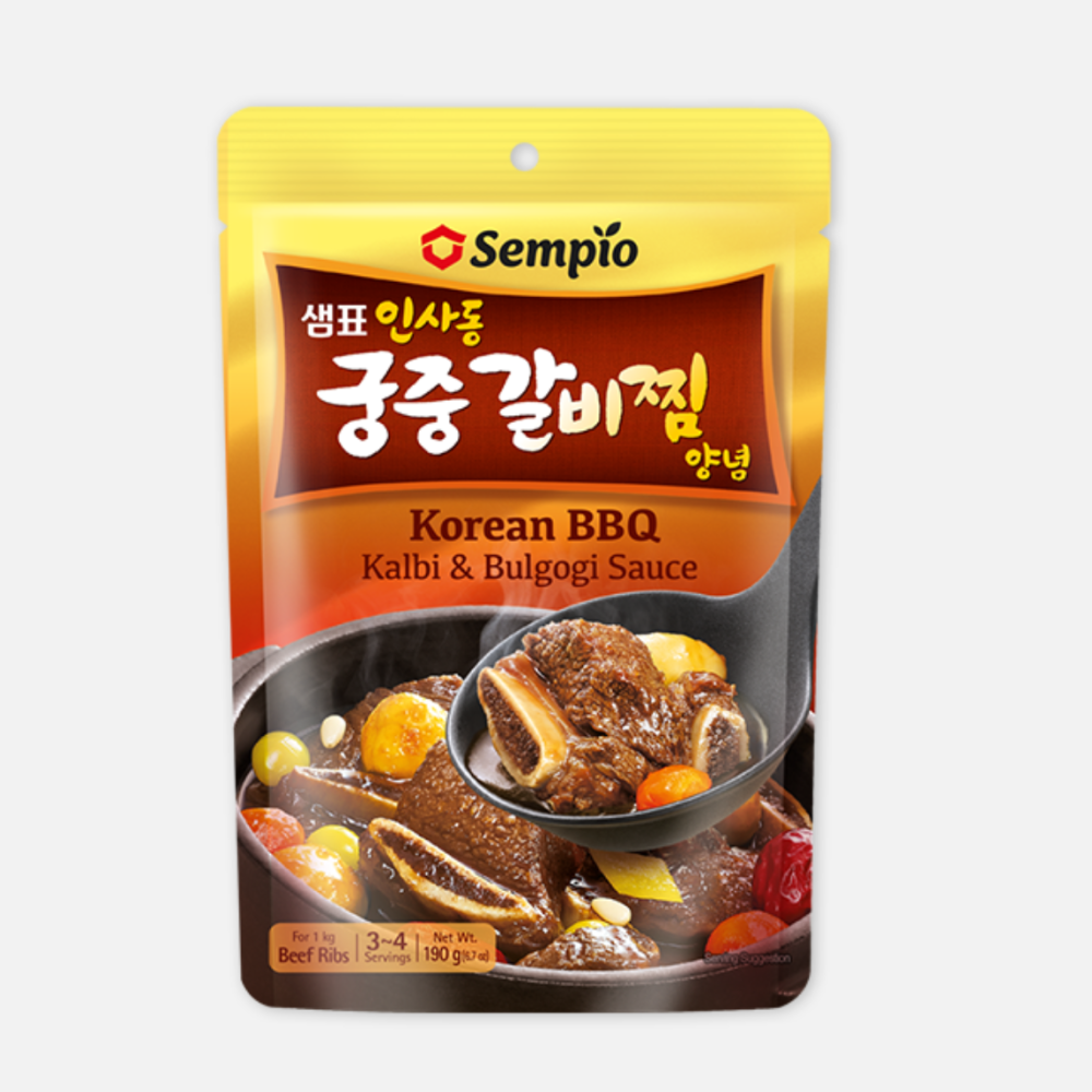 Sempio Korean Bbq Kalbi And Bulgogi Sauce 180g