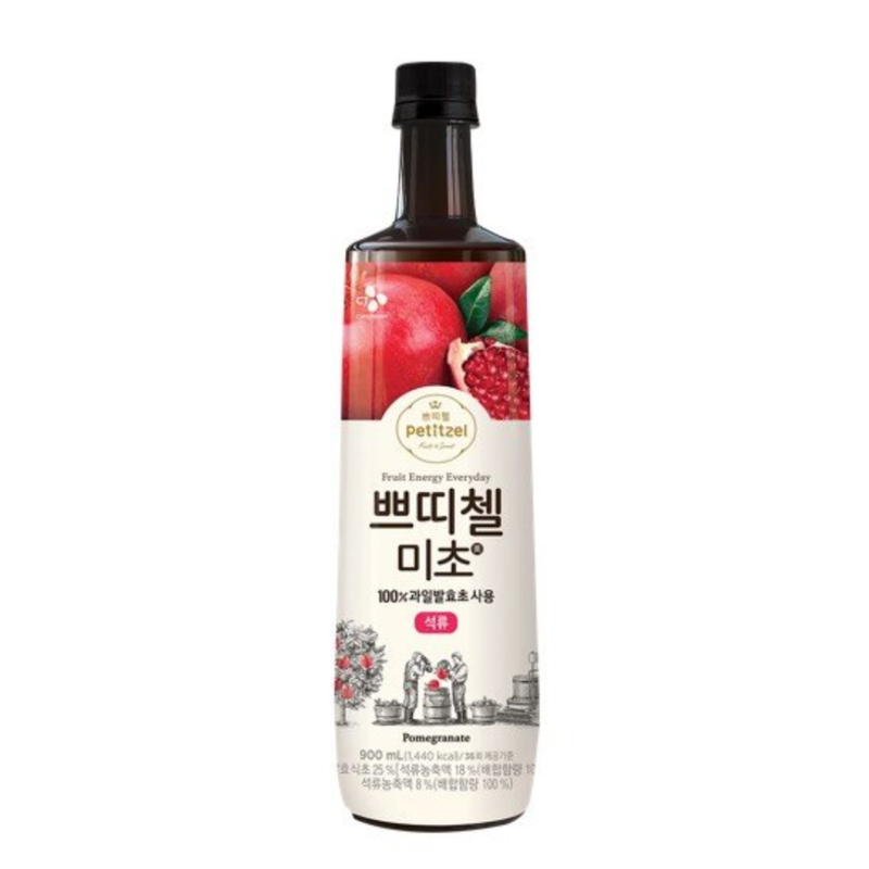 CJ Petitzel Vinegar Drink - Pomegranate (900mls) Limited to 2 bottles per order