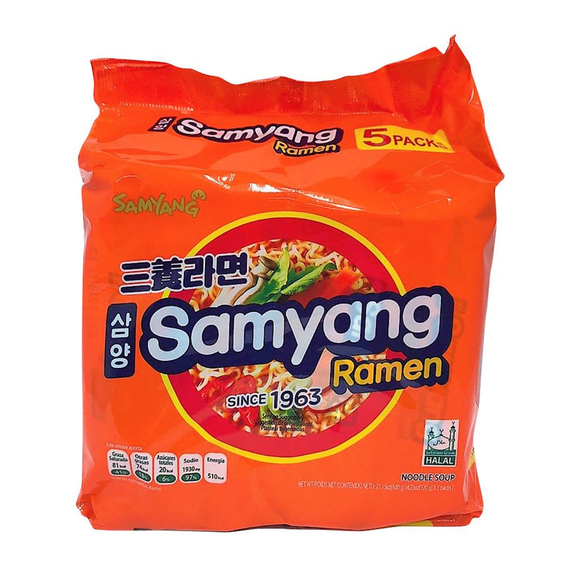 Samyang Ramen Multipack (includes 5 packs)
