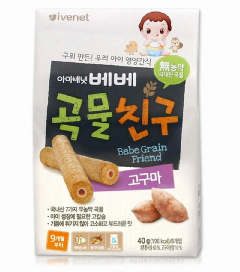 Bebe Grain Friend Sweet Potato 40g